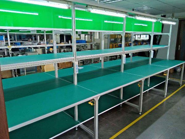 工业铝型材框架工作台 (1)