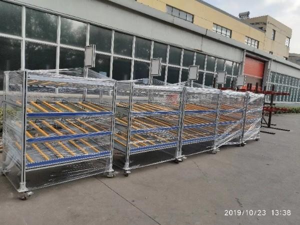 工业铝型材料架发货