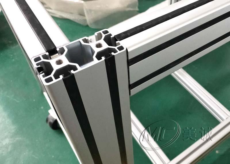 三月热门铝型材框架之口罩机机架