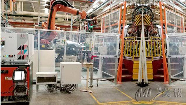 机械设备防护围栏.