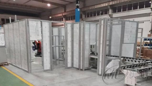 铝型材设备防护围栏.