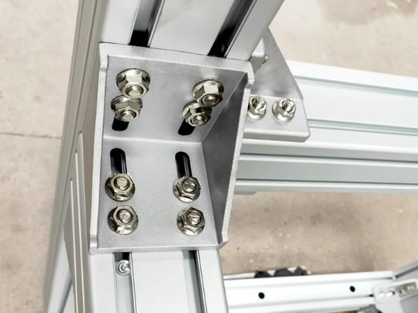 铝型材框架安装