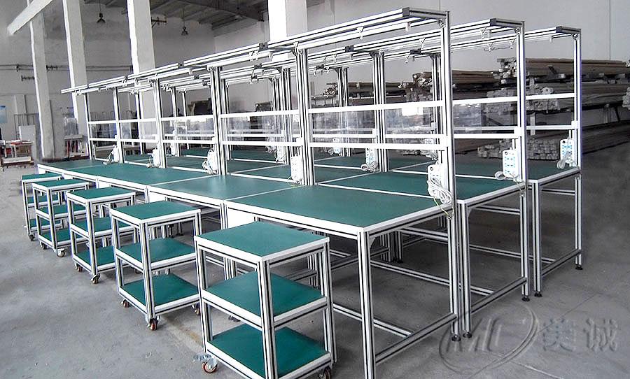 生产流水线工作台