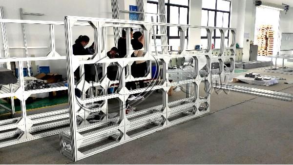 口罩机铝型材机架