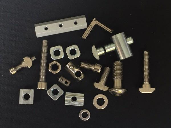 3030铝型材能用的配件规格大全