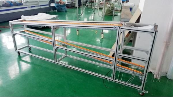 铝型材流利条移动货架