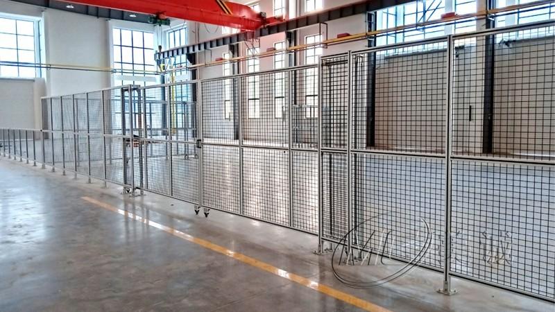 铝合金机械防护围栏