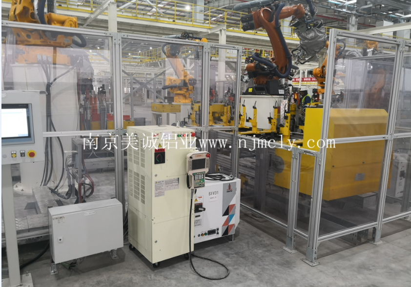 工业铝型材围栏连接板