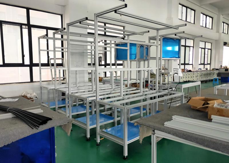 4040铝型材定做的工作台