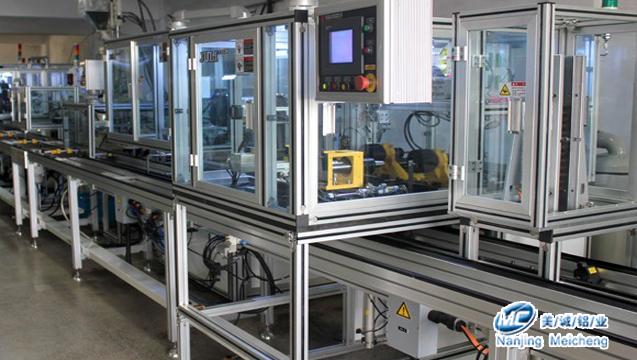 工业铝型材自动化应用案例