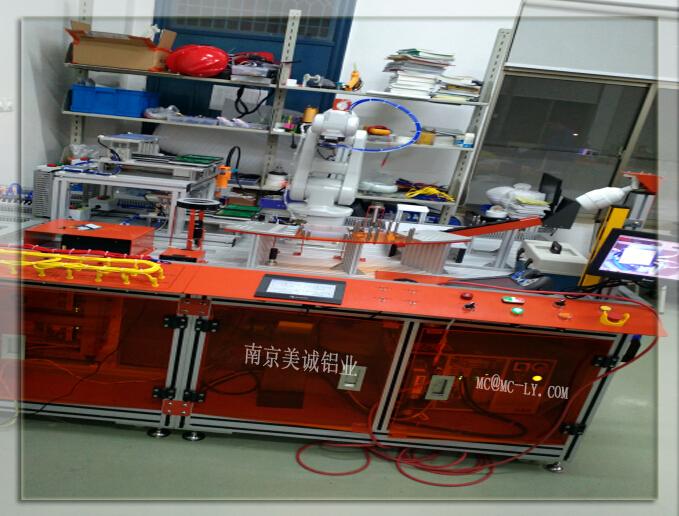 铝型材测试台