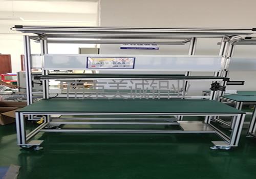 铝型材框架移动流水线工作台