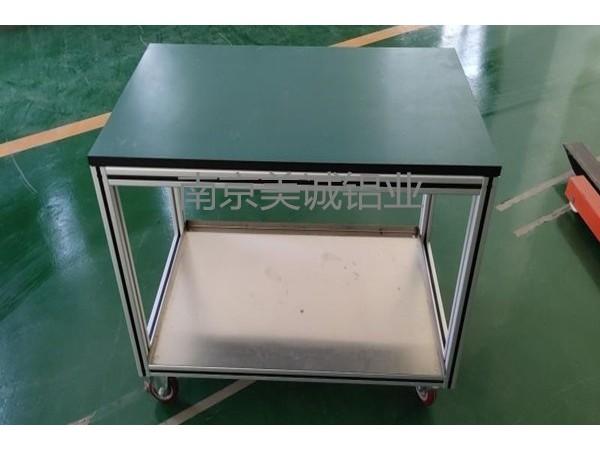 各种各样的铝型材工作台框架在厂定制
