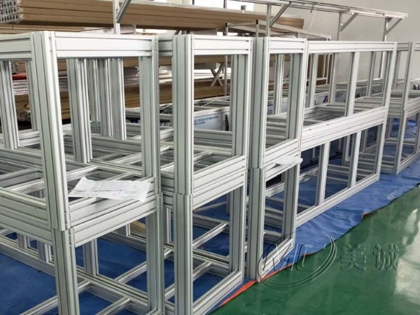 铝型材框架制品——口罩机机架