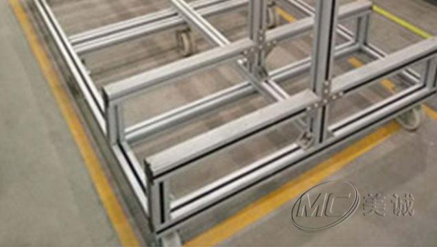 铝型材可移动货架 二