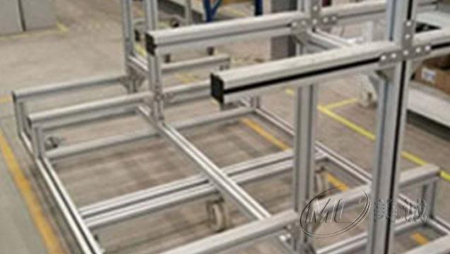 铝型材可移动货架 三