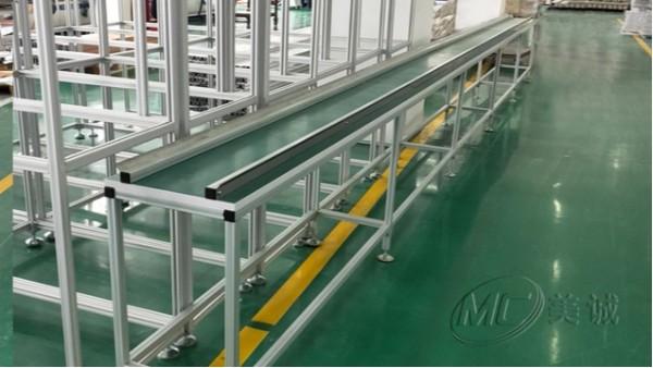 传送线铝型材工作台