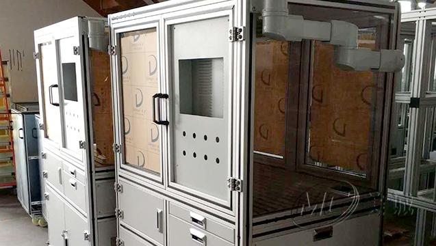 铝型材钣金机柜 二