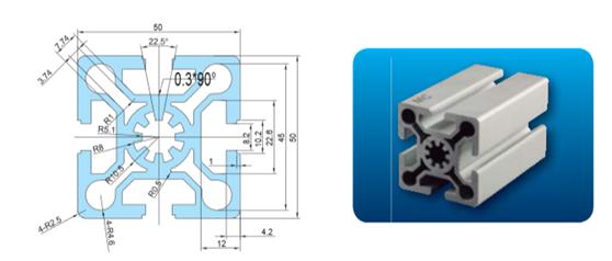 铝型材5050W