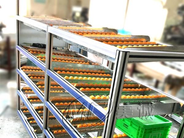 铝合金型材做成的流利条货架