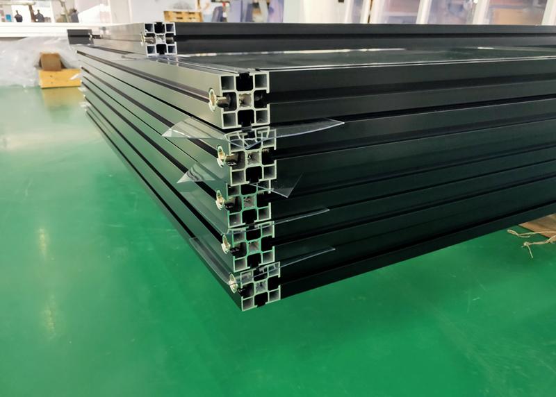工业铝材上色_黑色