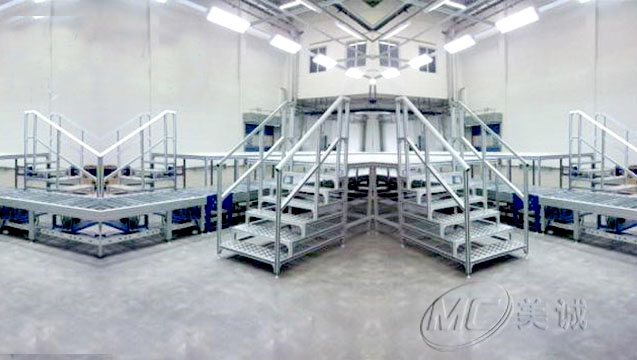 铝型材工业梯MC004.