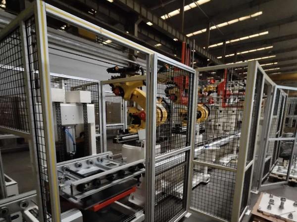 机器人防护围栏2