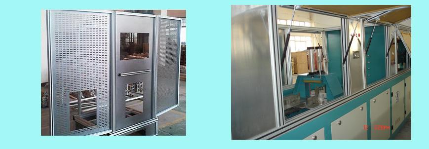 铝型材展架、设备护罩0055