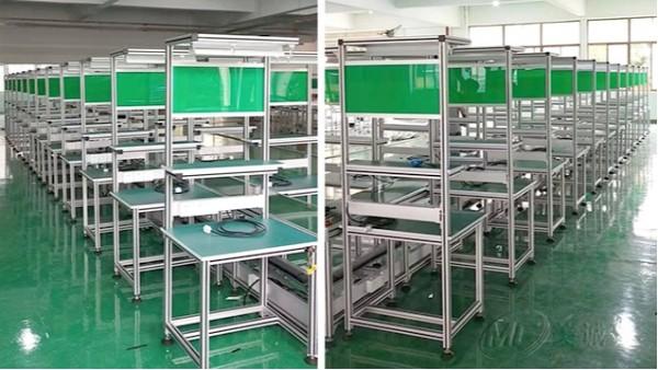 铝型材防静电操作台