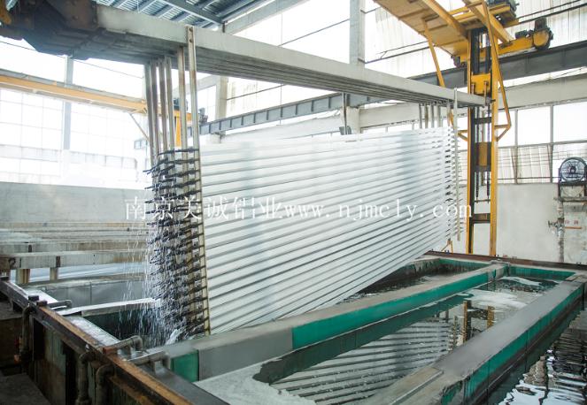 工业铝型材的制作过程