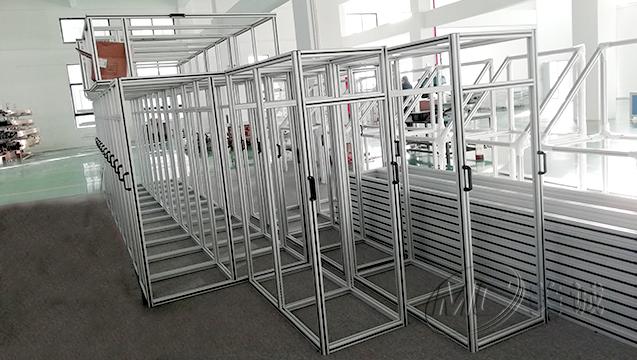 铝型材设备防护框架 二