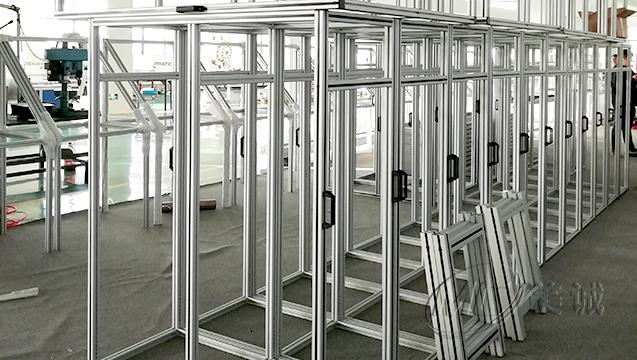 铝型材设备防护框架 三