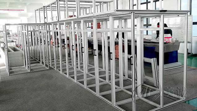 铝型材设备防护框架 四