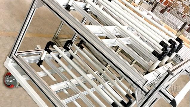 铝型材机械设备框架