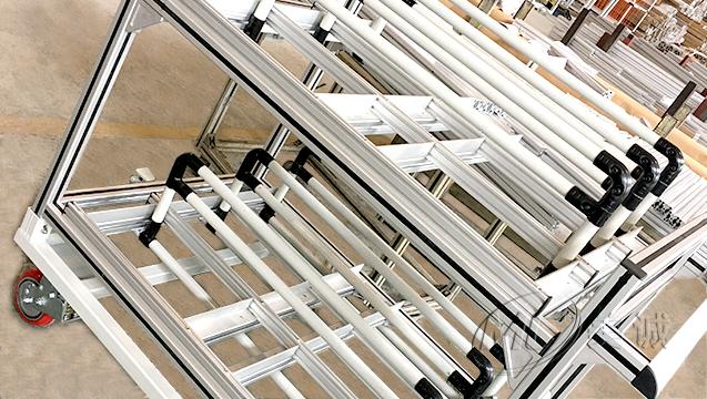 铝型材机械设备框架 二