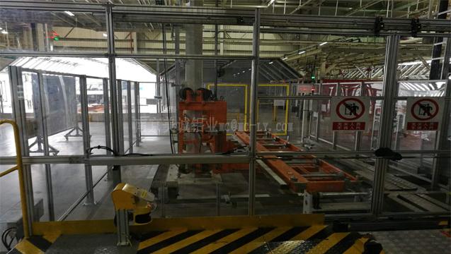南京美诚铝型材围栏