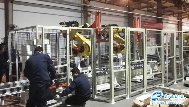 铝型材框架围栏