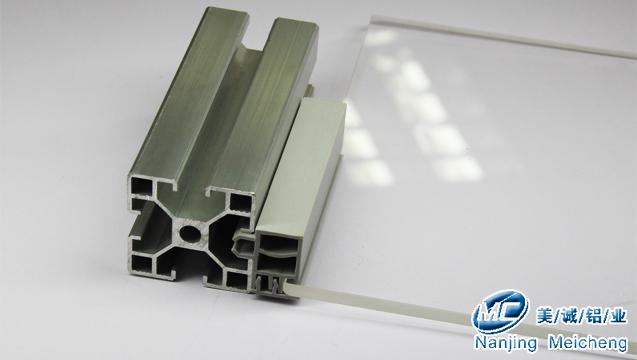 工业铝型材配件卡条使用示范