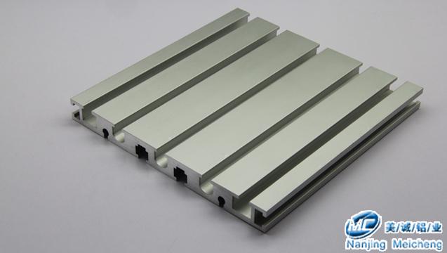 铝型材开模定制-九槽型铝型材.