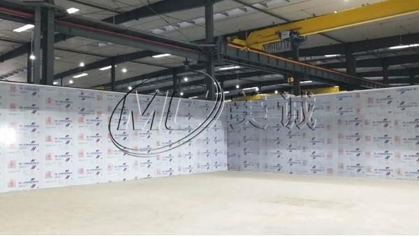 铝型材企业背景墙
