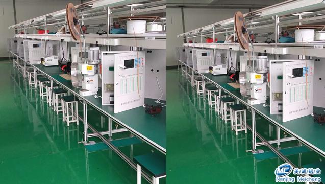 铝型材日光灯双排工作台