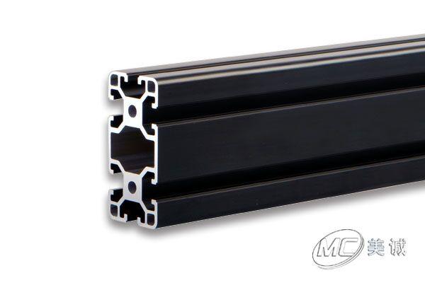黑色氧化工业铝型材