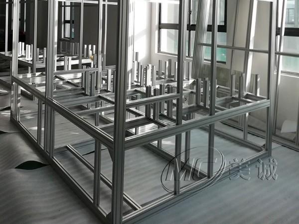 美诚铝业铝型材框架新案例