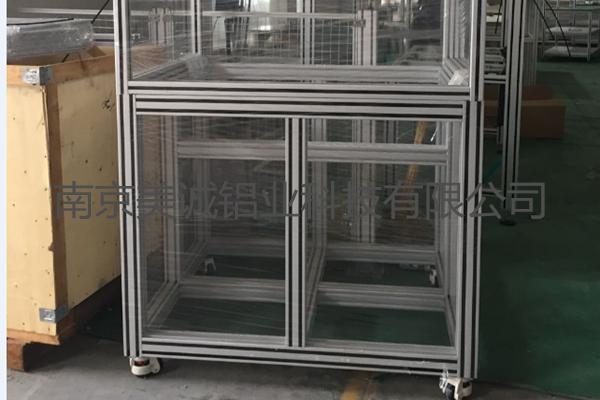 铝型材框架移动