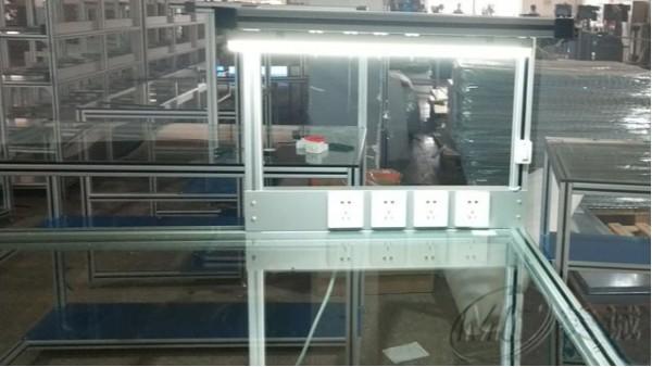 钢化玻璃操作台